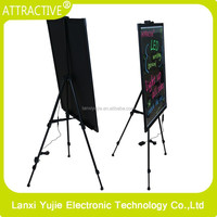Integral stand sign screen and for the shop restarant walking billboard outdoor advertising
