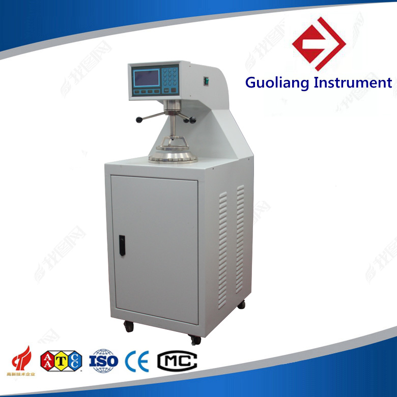 Digital gas permeability tester for fabric