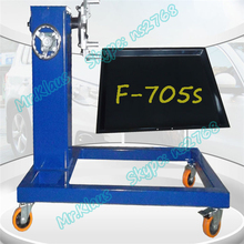 F-705s Model Multifunction Auto Medium Diesel Engine Maintenance Stand With Oil Pan Used For Repairing