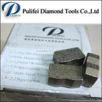 China Fujian diamond segment for granite cutting good packing and quality