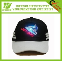 Customized Promotional Gifts LED Logo Flashing Cap
