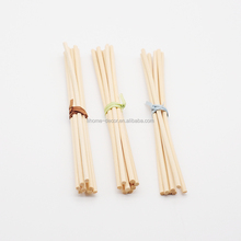 Hot sale UK,USA,Auatralia natural reed diffuser stick,4mm dia x 19cm L,10pcs tied with ribbon into a bundle