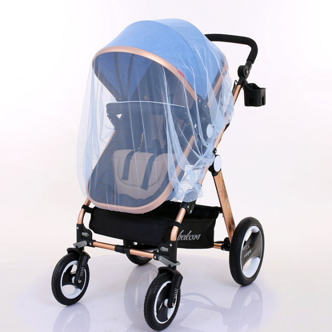 Summer Safe Baby Carriage Insect Full Cover Mosquito Net Stroller Bed Netting
