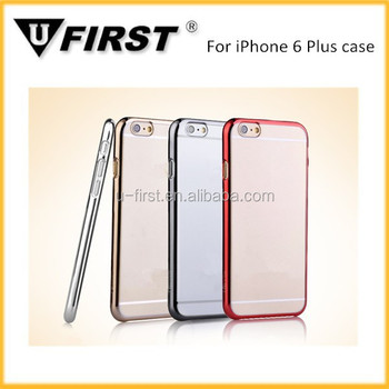 For iPhone 6 plus clear case, mobile phone protector for iphone 6 plus