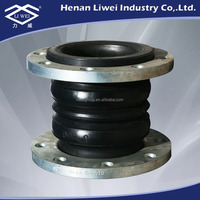 Carbon Steel Multiple Arch Rubber Reducer Bellows Pipe Expansion Joint