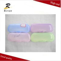 cheap clear plastic eyeglass case