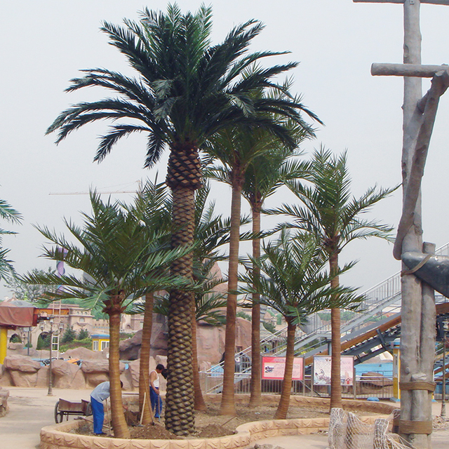 artificial outdoor palm trees, all kinds of palm trees