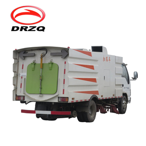 5.5 m3 truck mounted Vacuum Road Sweeper - Superstructure only