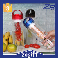 ZOGIFT the newest water bottle with fruit infuser /fruit infuser water bottle