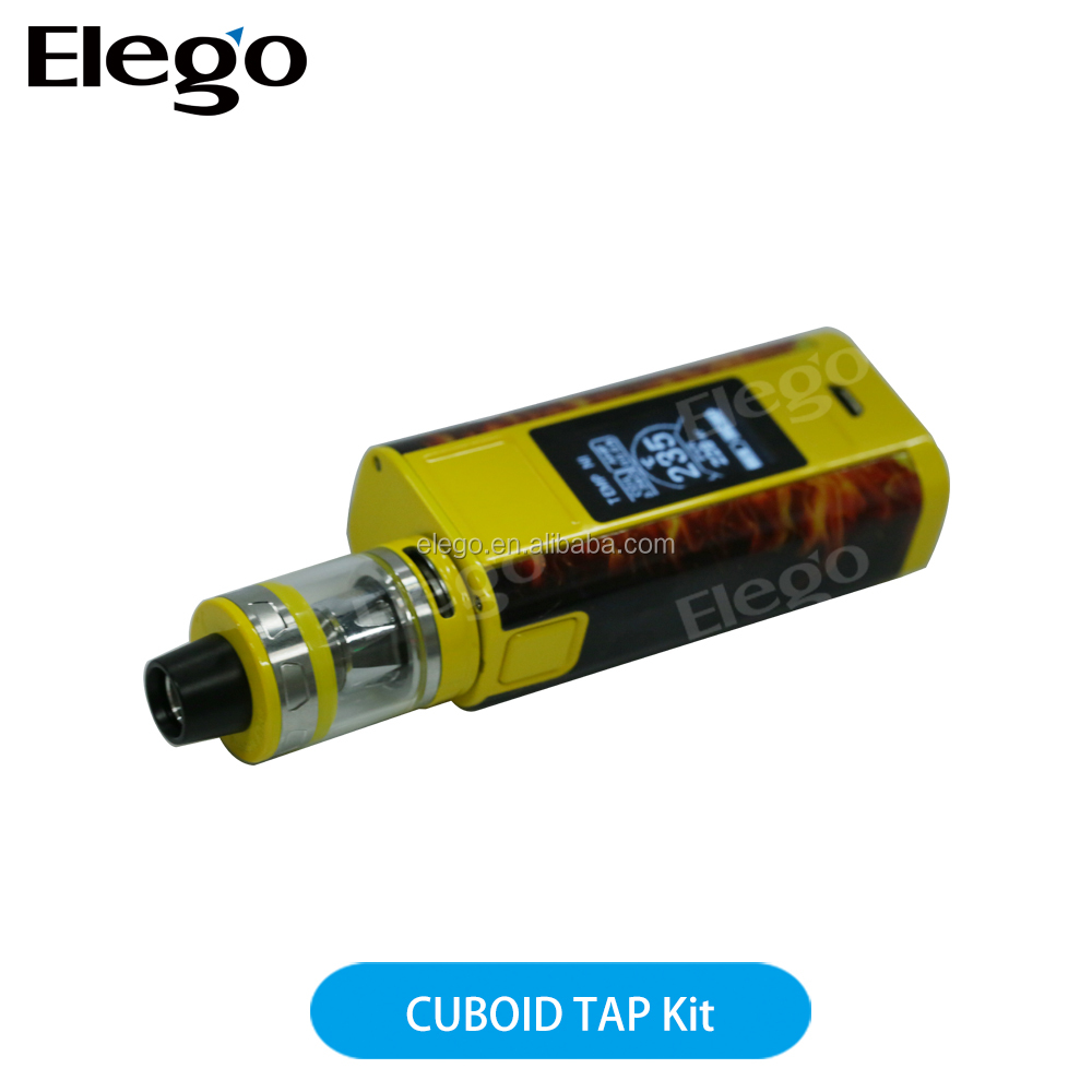 2017 Alibaba China electronic cigarette Joyetech CUBOID TAP full kit, 228w Cuboid TAP, Cuboid TAP with ProCore