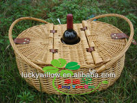 nature willow woven picnic baskets wicker