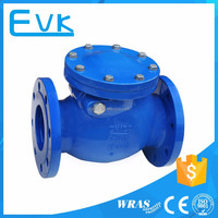 Ductile Iron Cast Iron Flanged Swing Check Valve Price