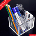 Clear Pen Display Case Handmade / Pencil Case For School