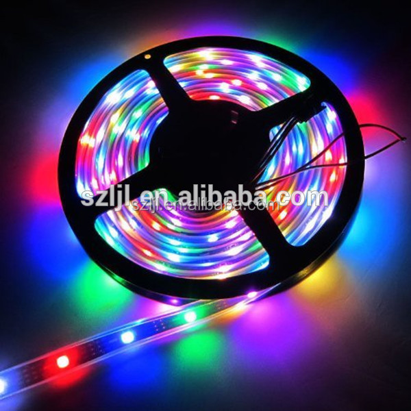DC5V SMD5050 RGB IC LED Strip WS2812B LPD8806 Adressable flexible strip 5M 150leds