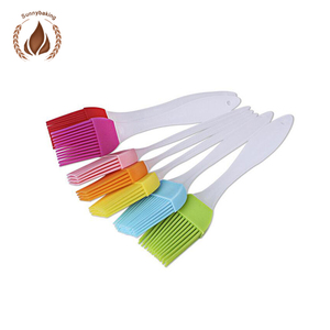 New baking tools kitchen utensil cake cream brush Silicone Basting Brush BBQ Tools cleaning brush for cake decorating supplies