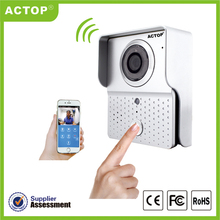 Factory supply wireless WiFi video door phone outdoor h 264 ip camera wifi