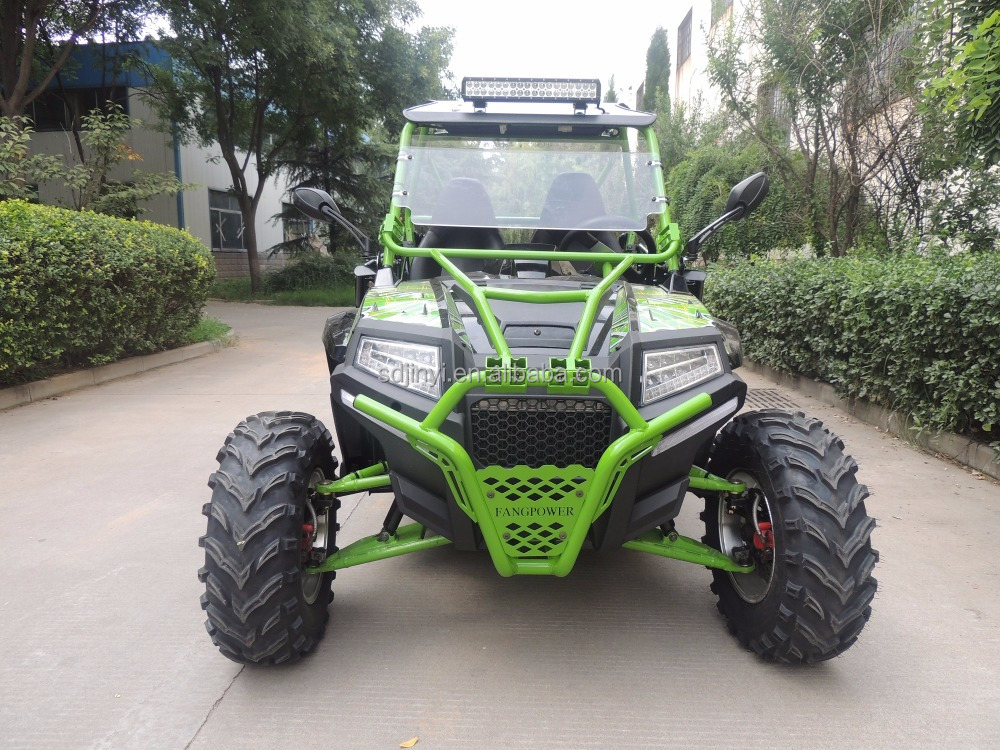 Powerful Cheap 400cc side x side UTV 4X2 buggy for sale