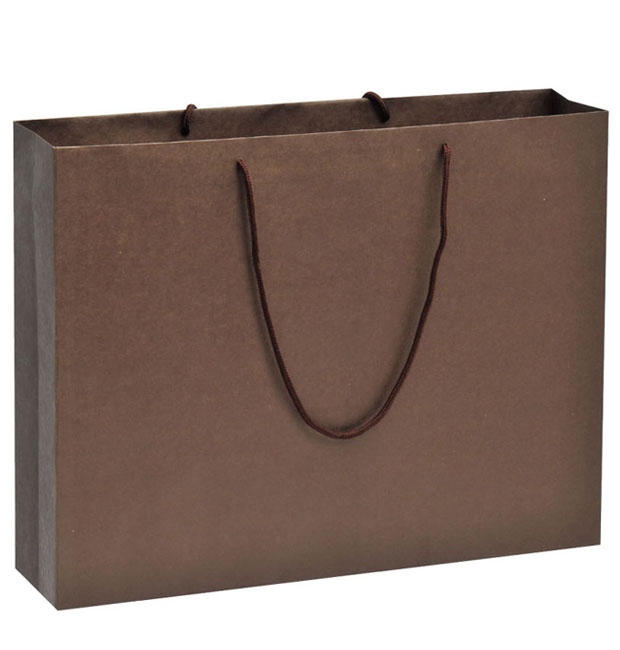 OEM Custom Printing Flat Bottom Paper Bag For Wine