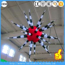 New products 2016 advertising 1m led inflatable star