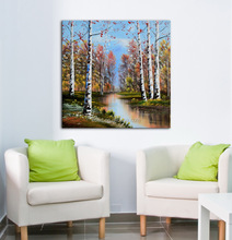 Canvas Handmade Art Abastract Tree High Quality Oil Painting
