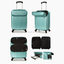 PC+ABS 20 Inch Laptop Trolley Suitcase with Front Pocket
