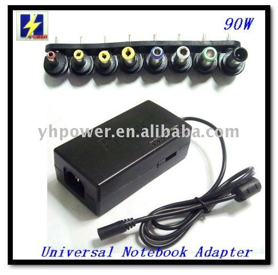 high compatible 90W universal notebook adapter