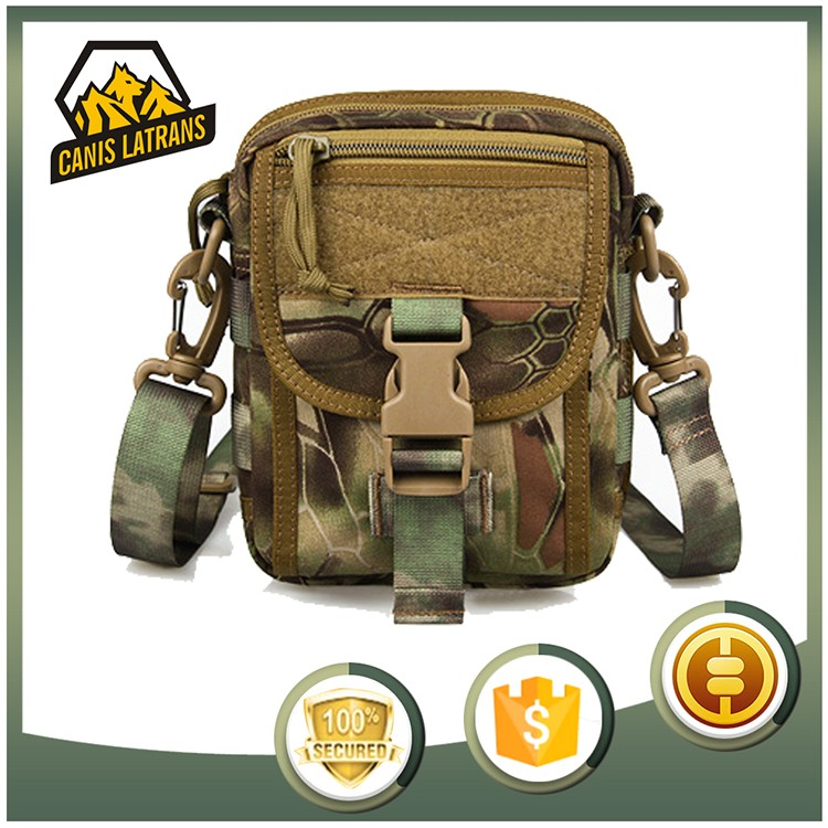 OEM Service Camouflage Tactical Advanced Hipster Pouch Field Tech MOLLE Gear Military Style Small CAMO Utility Bag CL5-0049