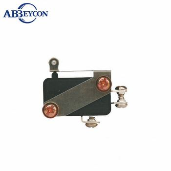 M15 KW7-6 Customized screw terminal short roller lever micro switch