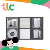 TLC Comfortable White Rolls Package Soft Hygienic Products Toilet Paper House Paper