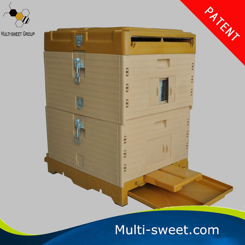 2016 New Style Plastic Bee Hives with 9 Plastic Frames Plastic Beehive