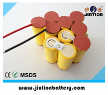 12v NiCD SC 2000mAh rechargeable battery pack for Power tool