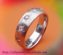 affordable engagement rings stainless steel rings made of stone