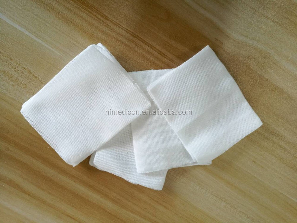 Surgical medical cotton gauze swab for hospital