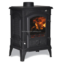 Good performance Freestanding Wood burning real fire fireplace room heater for home