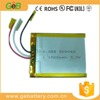 3.7v lithium 505060/1500mAh li-ion polymer battery/lithium polymer rechargeable lipo battery