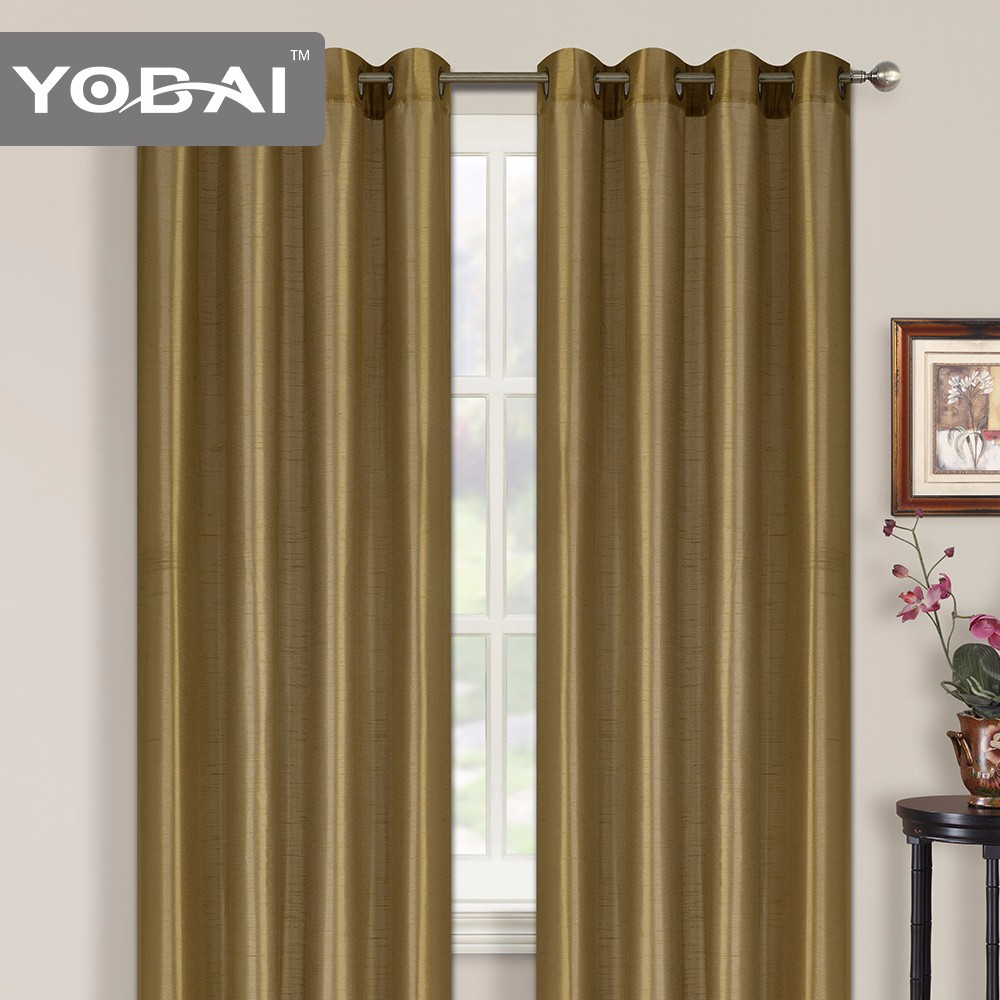 100% Polyester Solid Usa Dressing Rooms Curtain In China