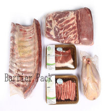 food plastic package shrink bag for mutton and pork use