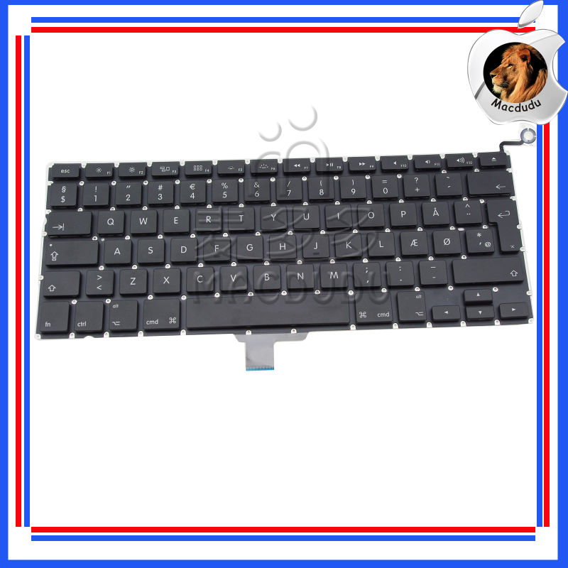 "Brand new 13"" denish keyboard for Macbook Pro A1278 unibody MC700 MB990 MC374"