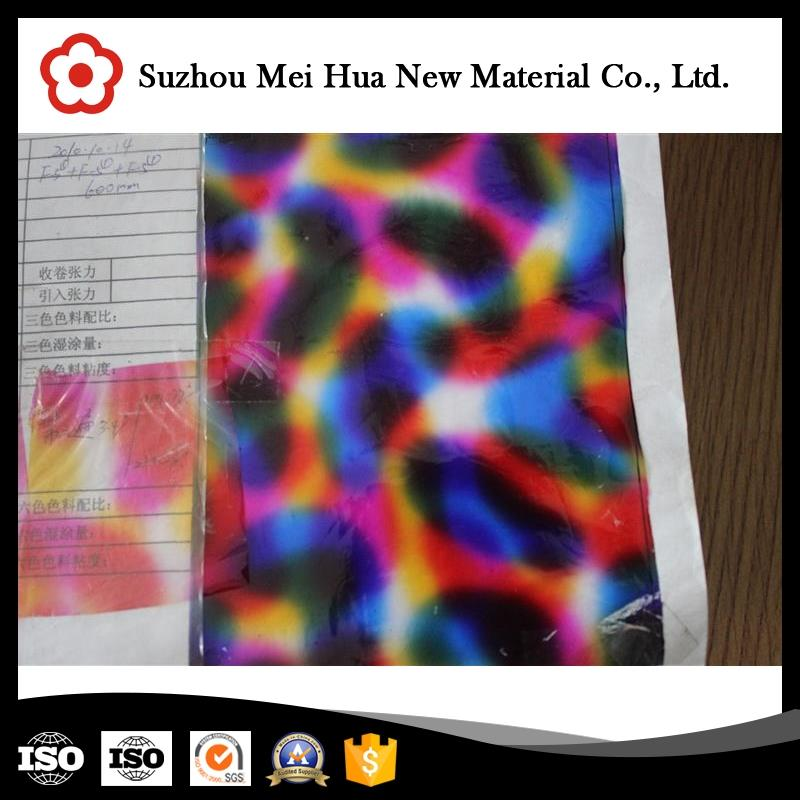 Professional pet material hot stamping foil sale with high quality