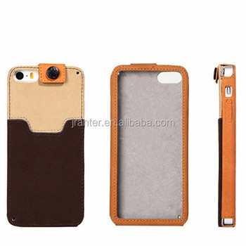 New Protective Cases Cover for Cell Phone Leather Custom Cover for iPhone 4