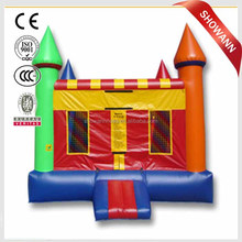 Inflatable trampoline baby jumper outdoor jumping castle air bouncy for sale