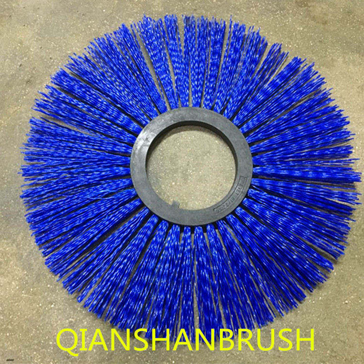 Rotary sweep brush roll road sweeper snow brushes brush for road cleaning