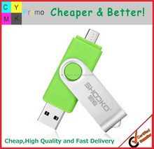 2016 Customized logo Printed Promotional USB with OTG