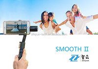 Zhiyun Z1-Smooth-2 cellphone accessories smartphone handheld gimbal stabilizer for iPhone Samsung Mobile Steady Cam