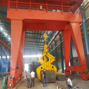 Harbour mobile double girder gantry crane used in seaport