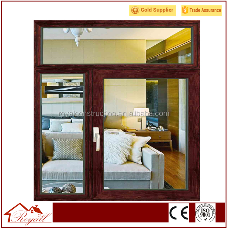 Brand new Turn Window with Top Grade Material Wood Grain Finish Timber Look