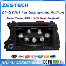 car dvd gps for ssangyong kyron with radio audio car multimedia system