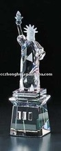Fashion crystal statue of liberty model