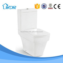 Ceramic toilet accessory two piece women quality china top sanitary ware