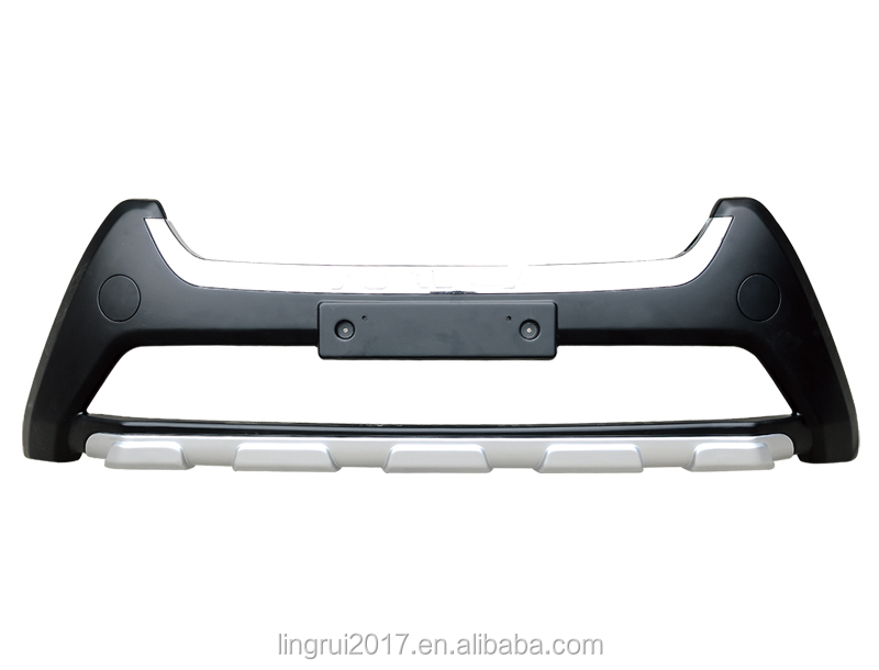 HIGH QUALITY AUTO FRONT/REAR BUMPER GUARDS FOR TO-YOTA RAV4 2013-2015